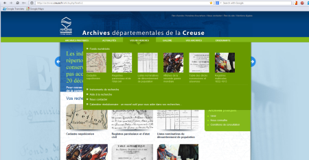 Archives de la Creuse