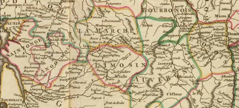 La carte de Robert de Vaugondy (Frances Postes)